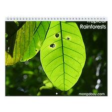 Tropical Rainforests Wall Calendar