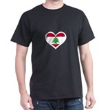 Lebanon Love heart T-Shirt