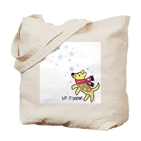 German Shepherd - Snow Tote Bag