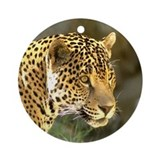 Jaguar Ornament (Round)