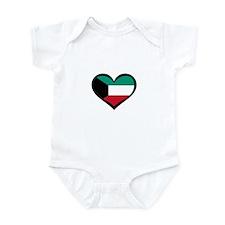Kuwait Love Infant Bodysuit