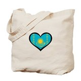 Kazakhstan Love Tote Bag