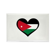 Jordanian Love Jordan Rectangle Magnet (100 pack)