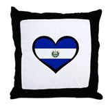 El Salvador Love Throw Pillow