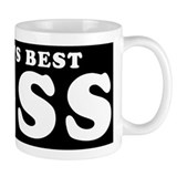 World's Best Boss Small Mugs