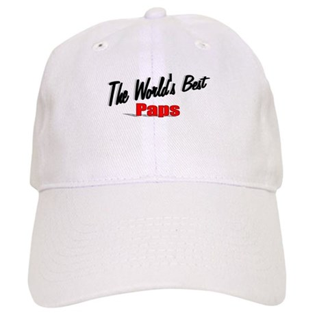 """The World's Best Paps"" Cap"