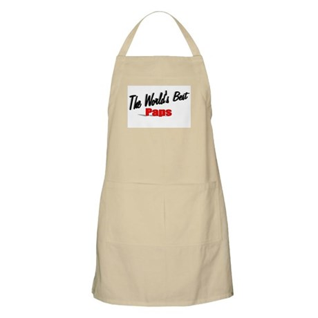"""The World's Best Paps"" BBQ Apron"