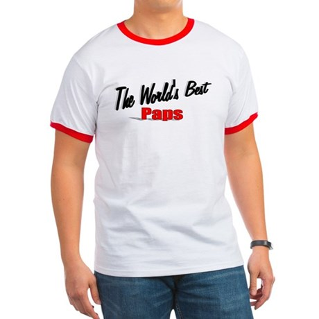 """The World's Best Paps"" Ringer T"
