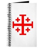 Crusaders Cross (Red) Journal