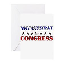 MONSERRAT for congress Greeting Cards (Pk of 20)