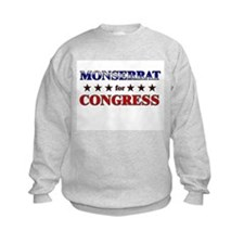 MONSERRAT for congress Sweatshirt