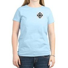 Crusaders Cross (Black) T-Shirt