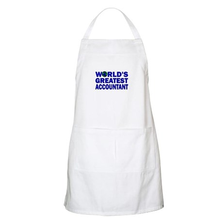 World's Greatest Accountant BBQ Apron