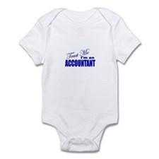 Trust Me I'm an Accountant Infant Bodysuit