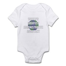 World's Greatest Administrati Infant Bodysuit