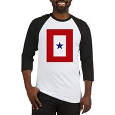 Blue Star Flag Baseball Jersey