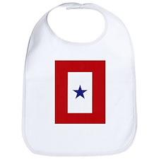 Blue Star Flag Bib