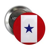 Blue Star Flag Button