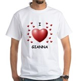 I Love Gianna - Shirt