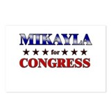 MIKAYLA for congress Postcards (Package of 8)