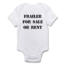 Frailer For Sale Infant Bodysuit