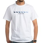 Scuba Diving (blue variation) White T-Shirt