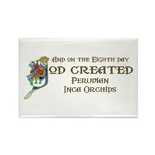 God Created PIOs Rectangle Magnet