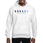 Motocycle Racing (blue variat Hooded Sweatshirt