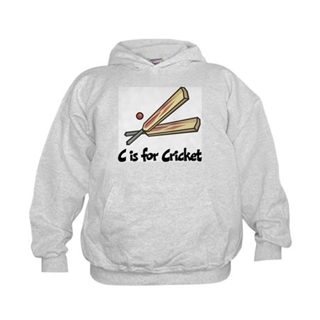 C is for Cricket Kids Hoodie