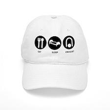 Eat Sleep Croquet Baseball Cap