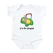 C is for Croquet Infant Bodysuit