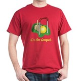 C is for Croquet T-Shirt