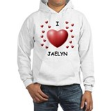 I Love Jaelyn - Jumper Hoody