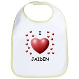 I Love Jaiden - Bib