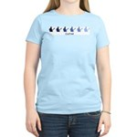 Guitar (blue variation) Women's Light T-Shirt