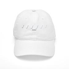 Golf (blue variation) Baseball Cap