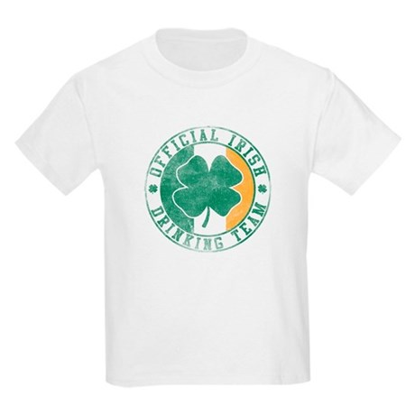 Official Irish Drinking Team Kids T-Shirt