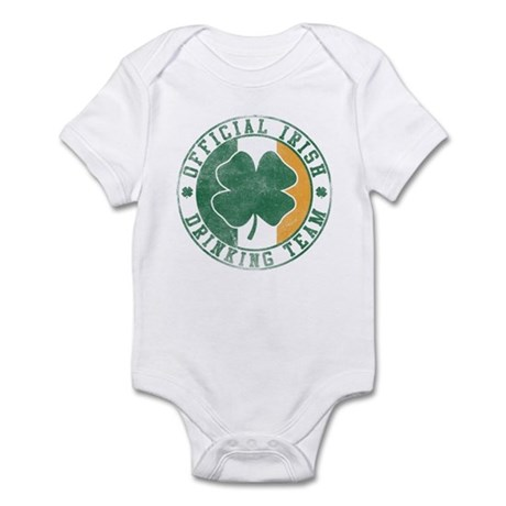 Official Irish Drinking Team Infant Creeper