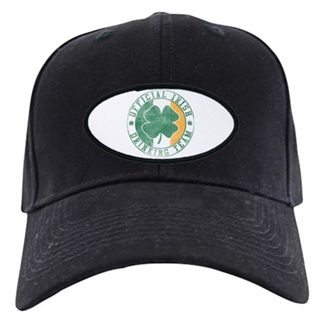 Official Irish Drinking Team Black Cap