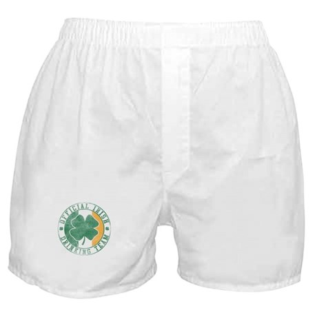 Official Irish Drinking Team Boxer Shorts