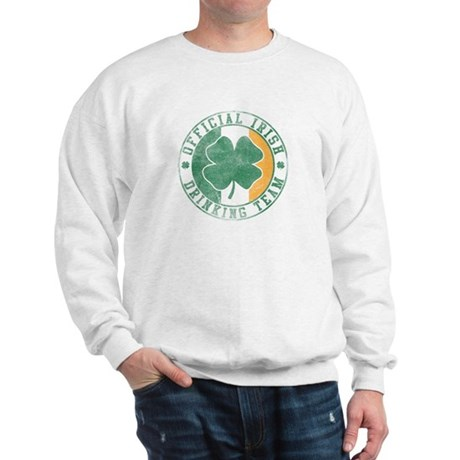 Official Irish Drinking Team Sweatshirt