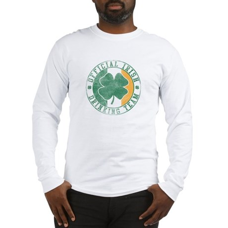 Official Irish Drinking Team Long Sleeve T-Shirt