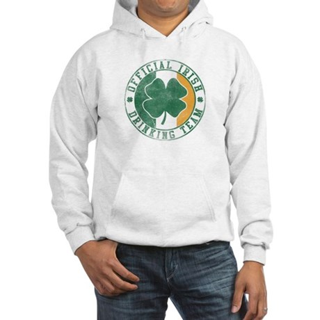 Official Irish Drinking Team Hooded Sweatshirt