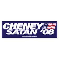 """""""Cheney-Satan '08"""" Political Bumper Stickers"""