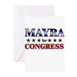 MAYRA for congress Greeting Cards (Pk of 10)