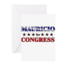 MAURICIO for congress Greeting Cards (Pk of 20)
