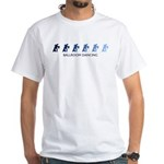 Ballroom Dancing (blue variat White T-Shirt