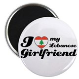 I love my Lebanese Girlfriend Magnet