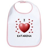 I Love Katarina - Bib