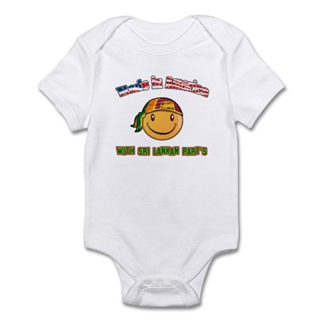 Made in America with Sri Lankan parts Infant Bodys